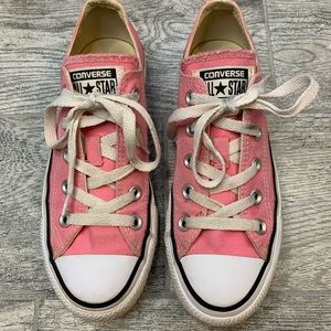 Converse Allstar Low Top Sneakers Pink Size 5